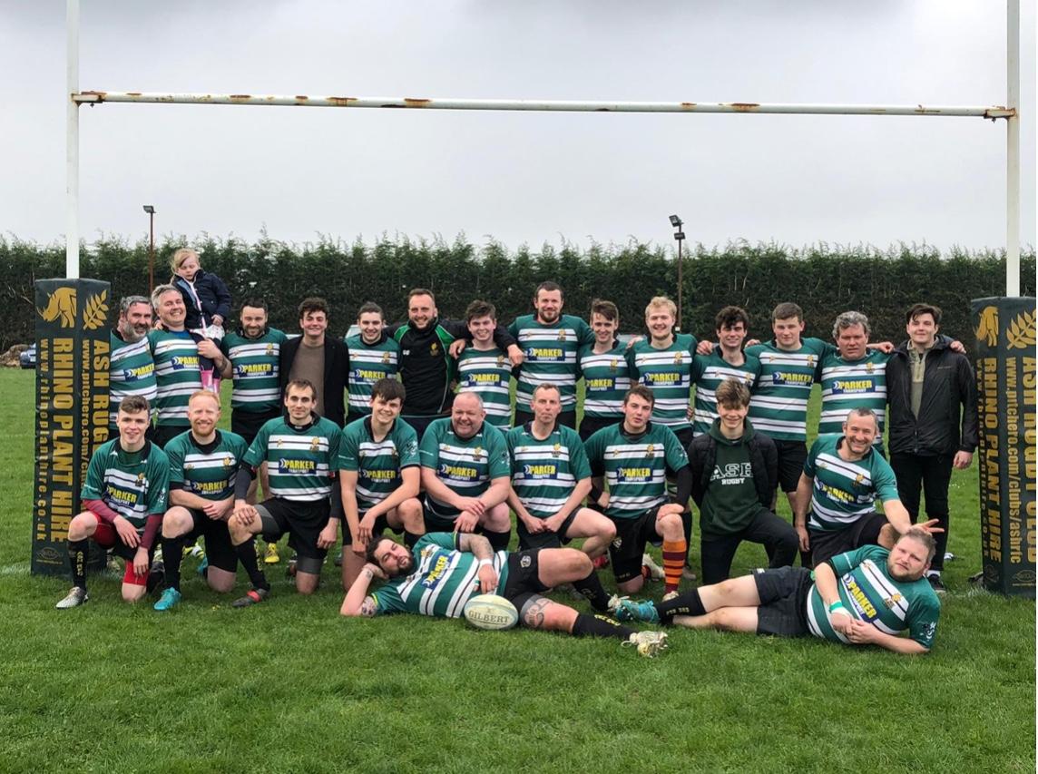 1st XV - Ash Rugby Club Team