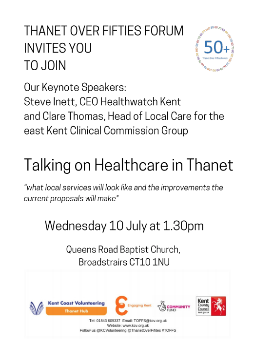 Talk on Healthcare in Thanet - TOFFS