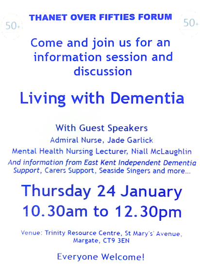 Excellent morning at the Living with Dementia session