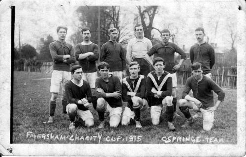 Faversham Charity Cup 1915 Ospringe Team