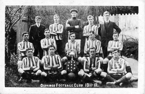 Ospringe Football Club 1911 - 1912