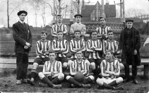 Ospringe Footballl Team 1910 - 1915