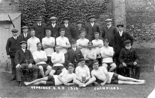 Ospringe Goal Running Champions