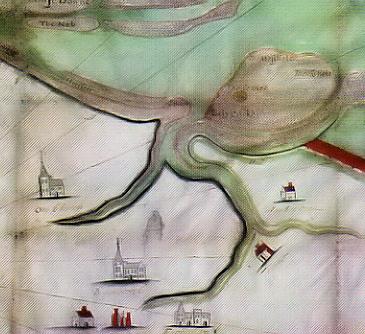 Faversham and Oare Creeks 1605
