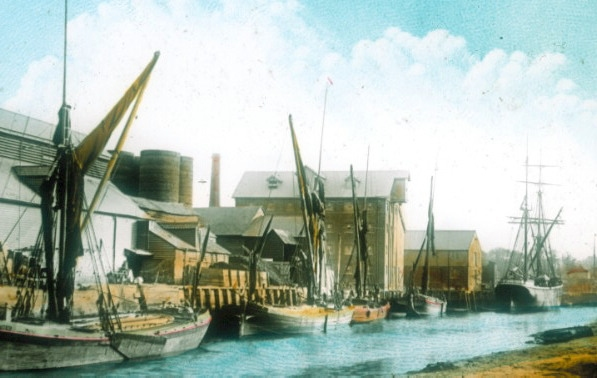 Faversham Creek c1895