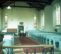 Church interior, 1984
