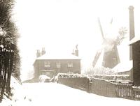 Preston Windmill & Mill House c 1895