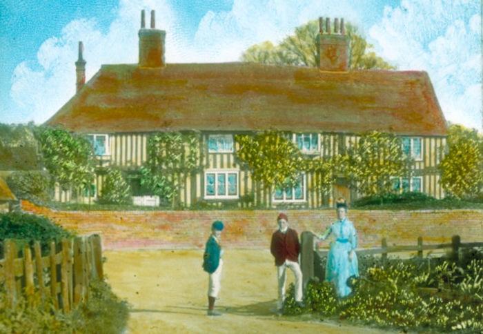 Queen Court, Water Lane c1890