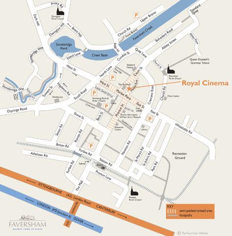 Map for Royal Cinema