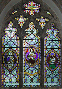Stained glass window by Thomas Willement