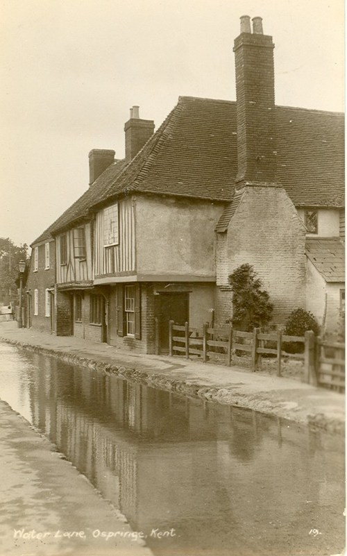 Water Lane, Ospringe 1920