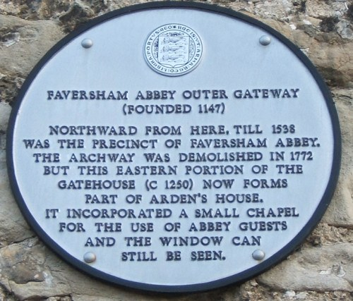 Faversham Abbey Outer Gateway