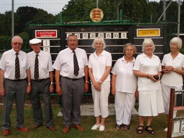 Faversham Recreation Bowls Club