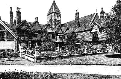 Davington Priory c1910