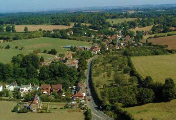 Aerial view of Doddington