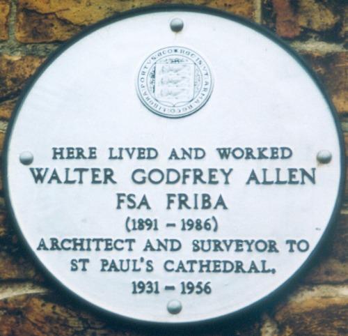 Walter Godfrey Allen