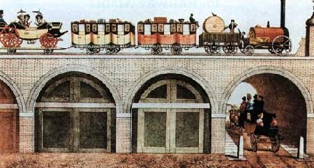 Greenwich Railway Bridge 1840