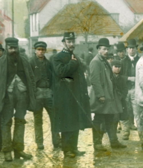 Police in Faversham 1891