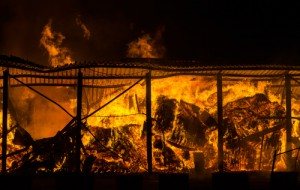 The catastrophic effect of fire on business