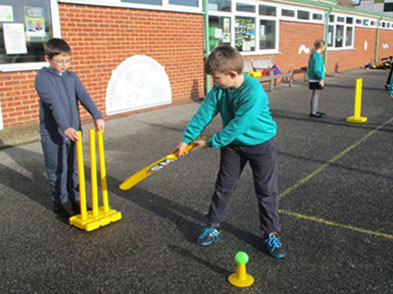 Year 4 Cricket Session - Garlinge Primary