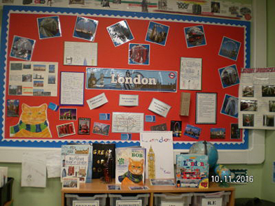 London Topic - Garlinge Primary