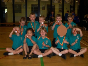 Infant Agility Challenge - Garlinge Primary School