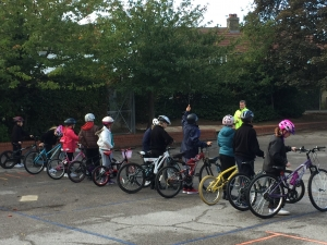 Year 6 Bikeability - Garlinge Primary School