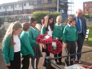 Remembrance Celebrations - Garlinge Primary School