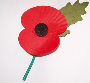 Remembrance Day Poppies - Garlinge Primary School