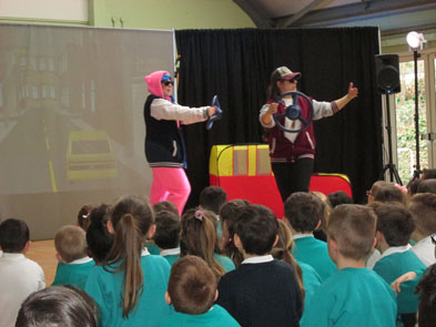 Safer Internet Performance & Workshops - Garlinge Primary