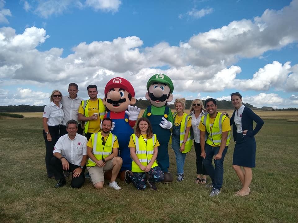Starlight Children's Foundation charity flying day - By Helix AV