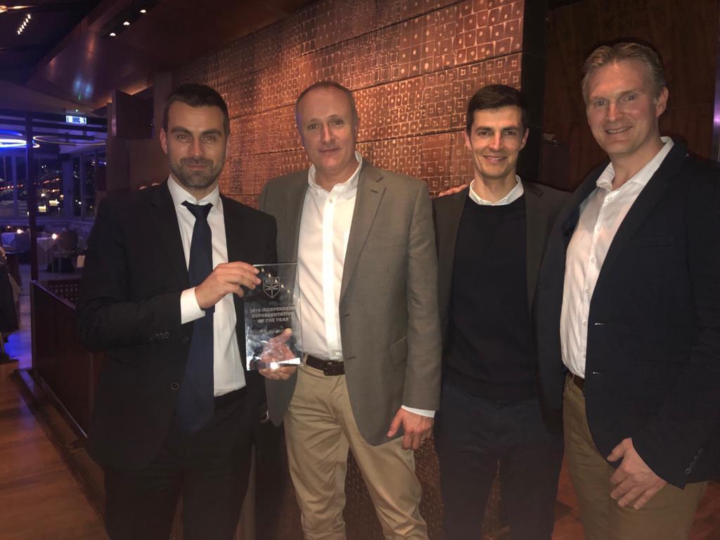 HelixAv awarded European Bell Independent Representative 2018 - By Helix AV