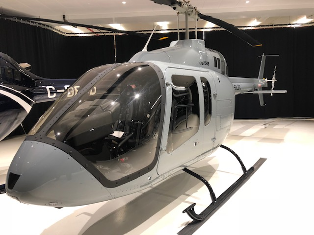 6th and 7th UK Bell 505s accepted - By Helix AV