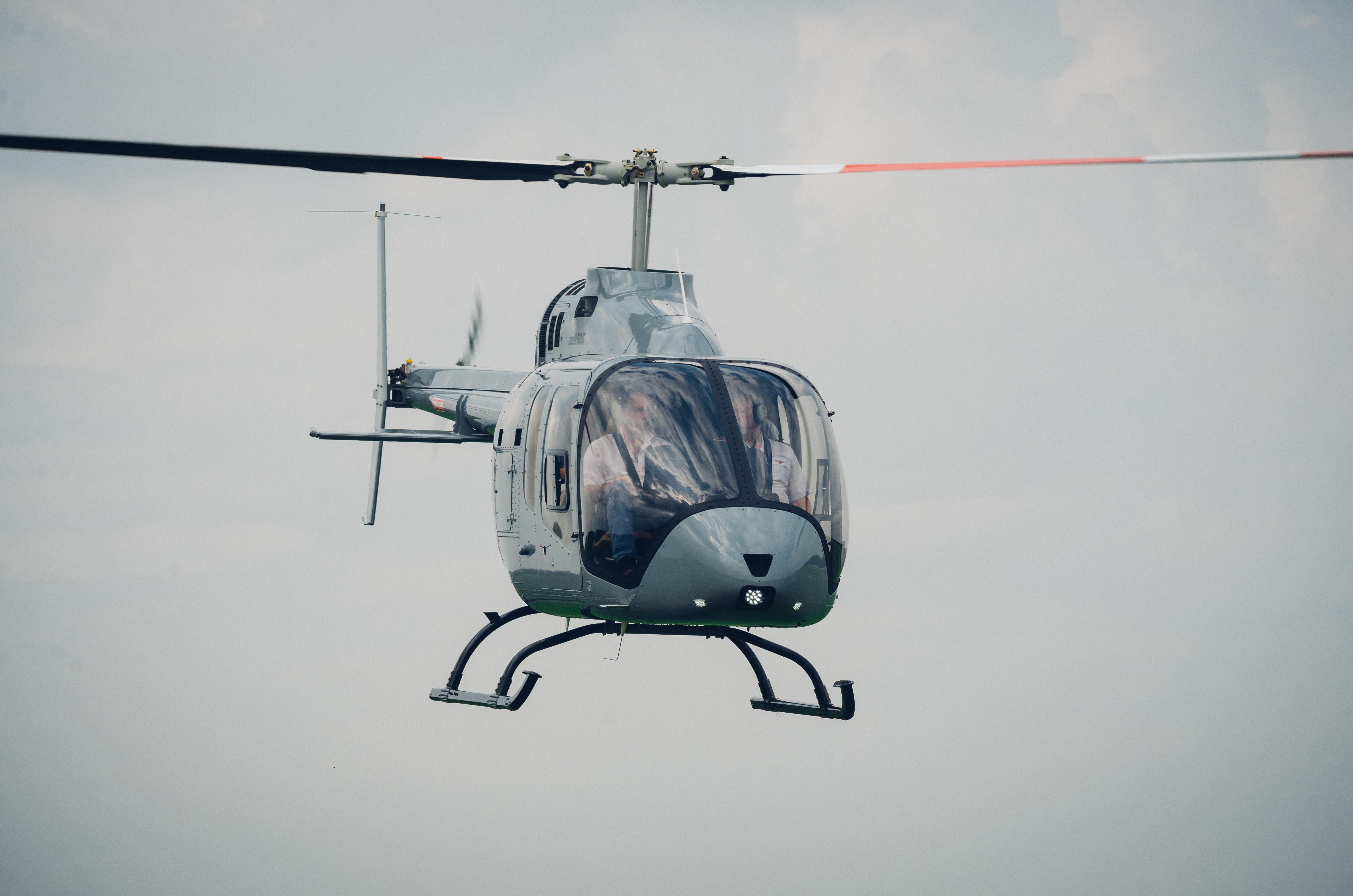 Bell 505 UK Launch Event - By Helix AV