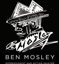 BEN MOSLEY LIVE PAINTING
