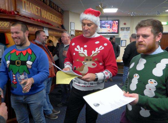 Image for the Christmas Jumper Social Evening 15th December news article