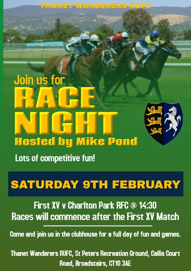 Image for the RACE NIGHT news article