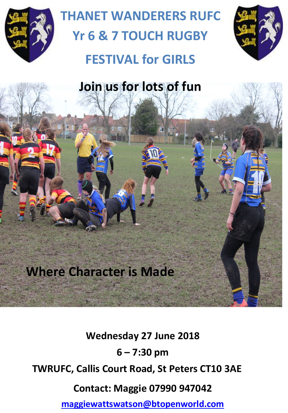 Event - Thanet Wanderers Rugby Club