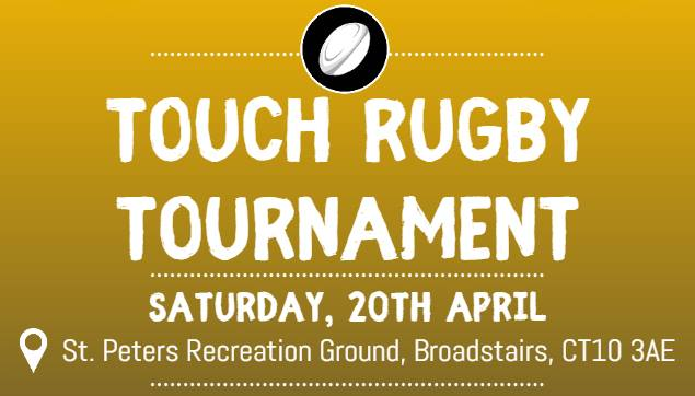 Image for the Touch Rugby Tournament 20th April news article