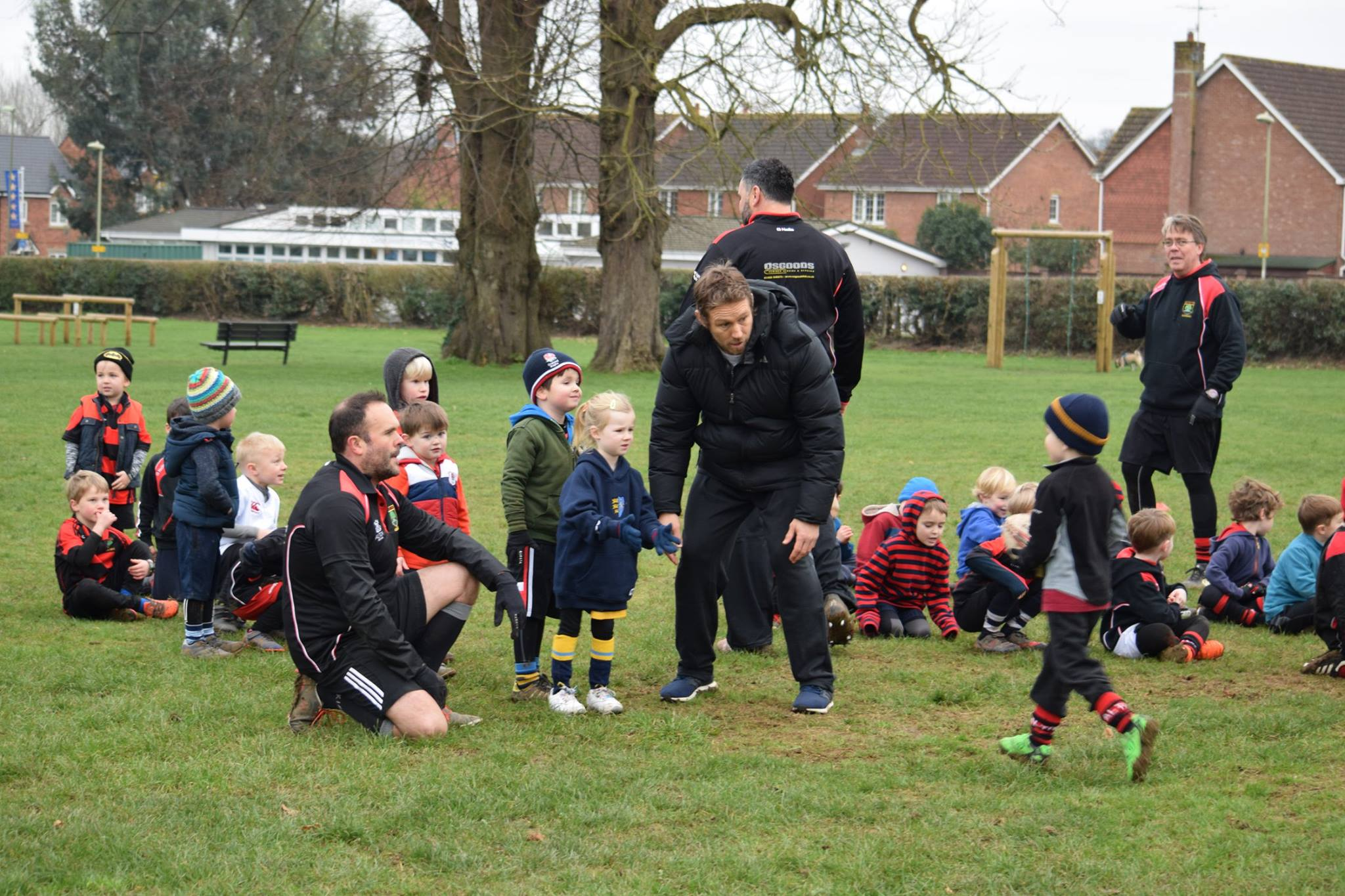 Image associated with UNDER 6 WANDERER TRAINS WITH JONNY at Thanet Wanderers RUFC