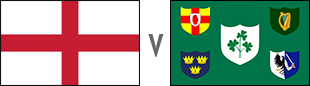 Image for the England V Ireland LIve on Sky at the clubhouse news article