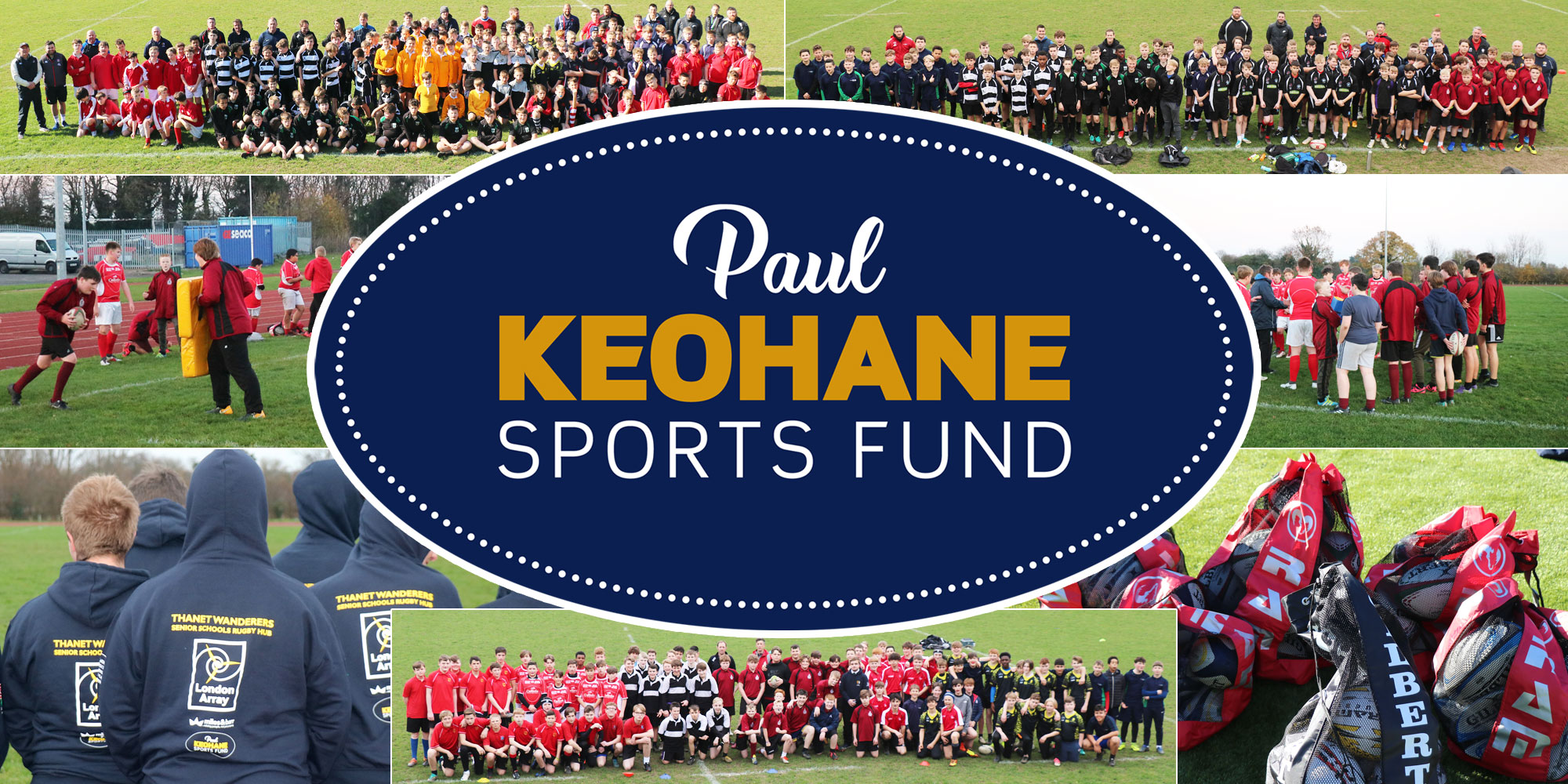 Image for the Paul Keohane Sports Fund Website news article